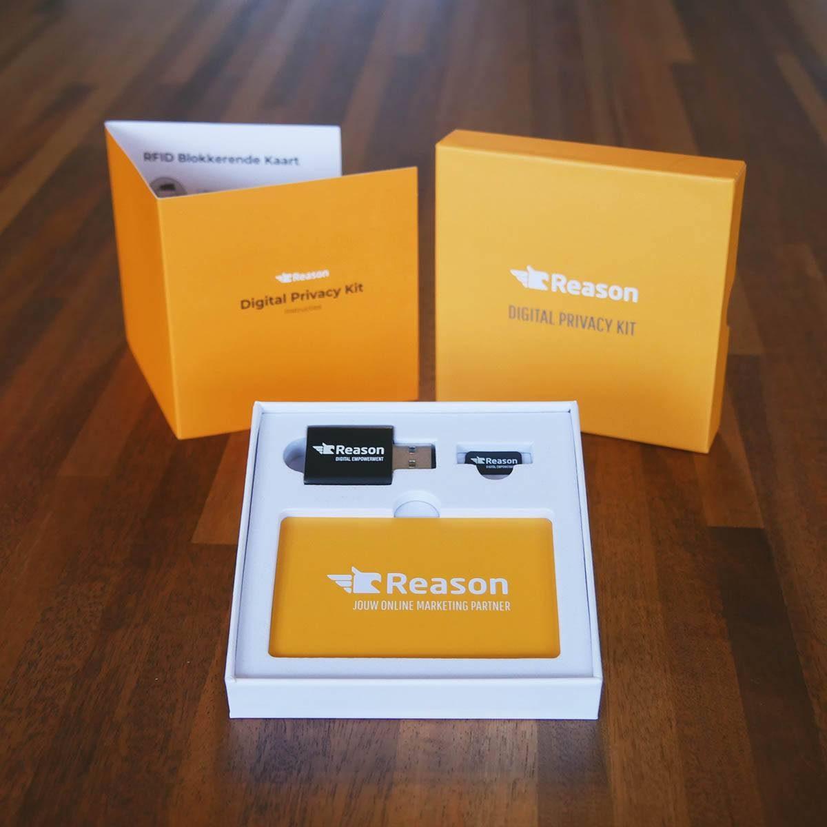 Privacy Kit mit Ihrem Logo